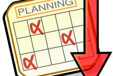 Planning prévisionnel pour la saison prochaine...